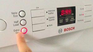 Chức năng sấy tăng cường của máy rửa bát SMI68MS07E